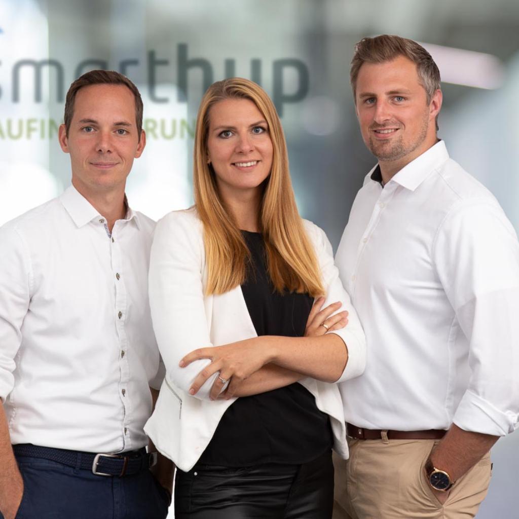 Finanzierungsberater Philipp von Danwitz und Natalie Krüger (geb. Eisert)