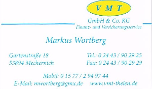 Finanzierungsanbieter VMT GmbH & Co. KG, Markus Wortberg